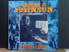 JAMES P. JOHNSON  1921-1928   LP  NEAR-MINT !!