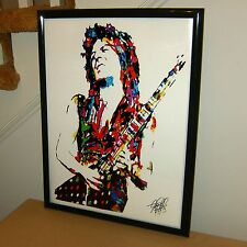 Randy Rhoads, Ozzy Osbourne, Guitar Player, Guitarist, Rock 18x24  POSTER w/COA2