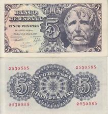 España - Billetes Estado Español- Año: 1947 - Nº 00462 - 5 pta. 1947 sin serie