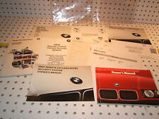 BMW 1994 E36 318,320,325 owner's manual 1 set of 10 Booklet/ Paper & BMW 1 Pouch