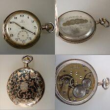 Savonette Herrentaschenuhr Omega Tula Silber um/ab 1900 (42500)