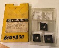 Kennametal Carbide Inserts -  CMG542P CNMG 16 06 08P KC935 - Qty. 3 - NEW