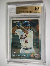 DILSON HERRERA 2015 Topps Update #80 BGS GEM MINT 9.5 RC Mets