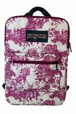 "New JanSport SuperBreak Tablet 15"" Laptop Sleeve Backpack Bag Berrylicious"