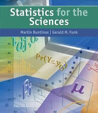 Statistics for The Sciences
