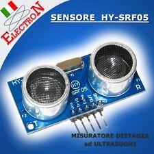 HY-SRF05 MISURATORE DISTANZA ULTRASUONI 5 PIN MODULO SENSORE PER ROBOT E ARDUINO