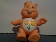 Care Bear Friend flower Figure 1983 Kenner Toy with hair Poseable Vintage 3""