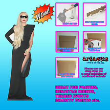 Lady Gaga Pop Singer LIFESIZE CARDBOARD CUTOUT