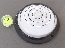 2 Pack -Large & Mini Circular Bulls Eye Bubble Level - Tool Clock Hobby Caravan