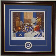"KENTUCKY BASKETBALL ""Wildcat Traditions"" framed print & coin by Greg Gamble"