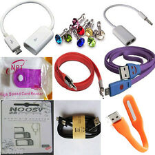 ✔ 9 in1 Combo Micro USB OTG,Charge Cable,Aux,Sim Adapter,Card Reader,USB Light ✔
