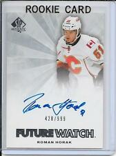 11-12 SP Authentic Roman Horak Future Watch Rookie Auto # 249
