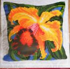 ORCHID - TAPESTRY/NEEDLEPOINT KIT for CUSHION