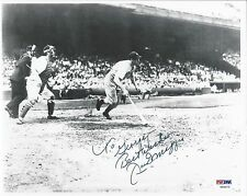 "JOE DIMAGGIO ""TO GEORGE"" PSA/DNA SIGNED 8X10 PHOTOGRAPH CERTIFIED AUTOGRAPH"