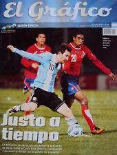 COPA AMERICA 2011 SPECIAL Magazine - Argentina 3 vs Costa Rica 0 - Lionel Messi