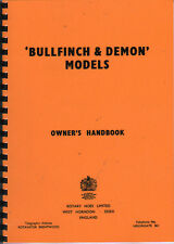 Howard Rotary Hoes Bullfinch & Demon Garden Rotavator Owner's Handbook