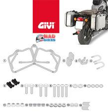 Triumph Bonneville T120 2016   onwards Givi Monokey Pannier Rack Fitting Rails