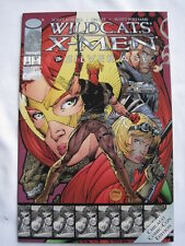 X-MEN / WILDCATS : THE SILVER AGE.ONE-SHOT - LOBDELL & JIM LEE. CHICAGO CON EDTN