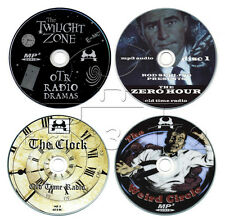 Twilight Zone, The Clock, Weird Circle, Zero Hour, OTR Sci-Fi, 5 Disc Collection