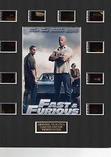Fast and Furious 1 35mm Film Cell Display