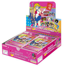 Sailor Moon Carddass Revival Collection Card 16 Pack Booster Box Bandai *USA*