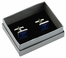 10 x High Quality Silver Cufflink Gift Boxes Lift off Lid
