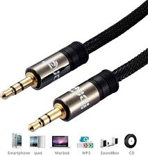 1M - 3,5 mm Jack Spina a Spina Maschio-Cavo Piombo Audio Per Cuffie / AUX / MP3 / iPod