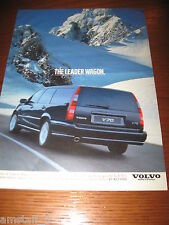 *AH40= VOLVO V70 =PUBBLICITA'=ADVERTISING=WERBUNG=COUPURE=