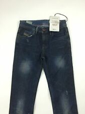 RPP 210€ Diesel Women's Faithlegg Straight 0804D Jeans W24 L32 Color Blue