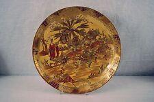 Antique Japanese Satsuma Dai Nippon Meiji Period Charger Plate