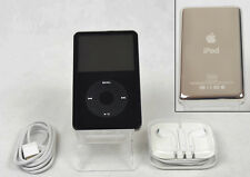 Apple iPod Classic 5th (5.5th) Generation Black (120 GB) - w/ SSD (Fully Refurb)