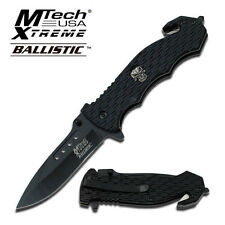 "Couteau M Tech USA Xtreme Ballistic Spring Assist Knife 4.63"" (11.76)  Closed"