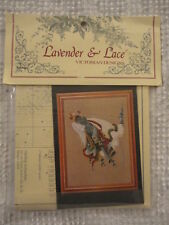 New Lavender and Lace Victorian Designs Cross Stitch Pattern Kit
