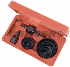 11 PCE HOLE SAW CUTTER Drill Bit Set-Adatto per legno leghe e lamiera
