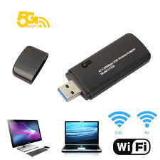 Super Speed AC 1200Mbps USB3.0 Wireless Dual Band Adapter WiFi Dongle_Win 10 New