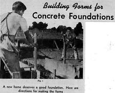 Make Concrete Building Forms For Foundations Building Construction Cement #233