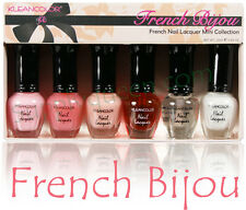 Kleancolor French Bijou French Manicure mini Collection 6pcs set