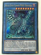 YUGIOH BLUE EYES CHAOS MAX DRAGON ULTRA 1ST NEAR MINT MVP1-EN004