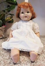 "Old American Character 20"" Composition & Cloth Happy Tot Chubby Baby Doll"