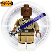 LEGO Star Wars Minifigures - Mace Windu c/w Lightsaber ( 75019 ) Minifigure