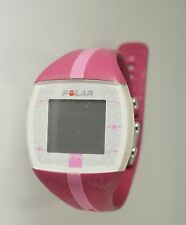Polar Men's FT4 Heart Rate Monitor Watch Pink Resin WATCH ONLY