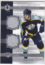 2006 06-07 Ultimate Collection Debut Threads Jerseys #DJSW Shea Weber 50/150
