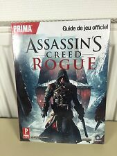 assassin's creed rogue guide de jeux officiel ps3 xbox 360 neuf sous blister