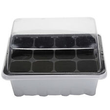 12 Hole Plant Seeds Grow Box Insert Propagation Nursery Seedling Starter Tray SE