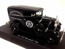 1931 Ford Model A, U.S. Marshall's Van Collectible Diecat 1:32 Scale New Ray Toy
