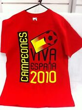 David Villa 7 Campeones Spain 2010 World Cup Viva Espania Football Medium New