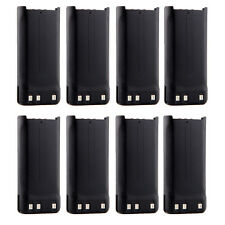 8X KNB-45L 1650mAh Battery for KENWOOD TK-2200L TK-3200L TK-2207 TK-3207 TK-2312