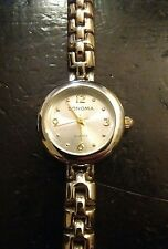 Vintage Sonoma ladies watch, running with new battery NR