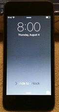 AS IS Apple iPod Touch 6th Gen 32GB Space Gray A1574