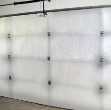 Supershield Reflective White Single Car Garage Door Insulation Foam Core Kit